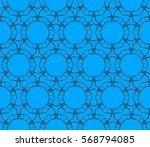 abstract repeat backdrop.... | Shutterstock .eps vector #568794085