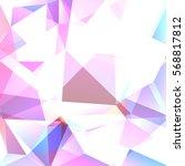 geometric pattern  polygon... | Shutterstock .eps vector #568817812