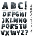 vector alphabet | Shutterstock .eps vector #56881894