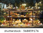 full of cakes and so sweet in... | Shutterstock . vector #568859176