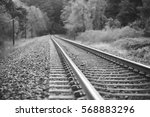 Train Tracks In The Gorge....