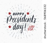 happy president's day vintage... | Shutterstock .eps vector #568906132