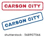 carson city text rubber seal... | Shutterstock .eps vector #568907566