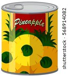 Pineapple In Aluminum Can...