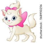 vector illustration of cute... | Shutterstock .eps vector #568950256