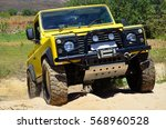 4x4 in the sand | Shutterstock . vector #568960528