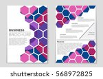 abstract vector layout... | Shutterstock .eps vector #568972825