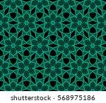 ornamental seamless pattern....   Shutterstock .eps vector #568975186