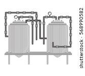 beer tanks icon image design ...   Shutterstock .eps vector #568990582