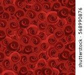 valentine's day. red bright...   Shutterstock .eps vector #568990876