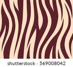 stripe animals jungle tiger fur ... | Shutterstock .eps vector #569008042