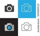 camera vector icons