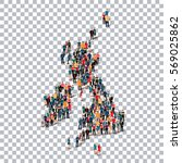 people map country united... | Shutterstock .eps vector #569025862