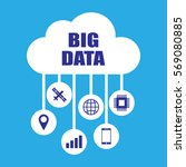 big data concept illustration | Shutterstock .eps vector #569080885