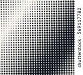 vector halftone pattern... | Shutterstock .eps vector #569117782