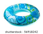 Blue Inflatable Round  Tube...