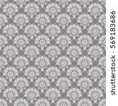 seamless pattern or floral... | Shutterstock .eps vector #569183686
