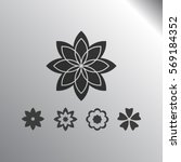 flower   Shutterstock .eps vector #569184352
