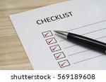 Checklist Concept   Checklist...