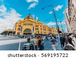 melbourne  australia   may 4 ... | Shutterstock . vector #569195722