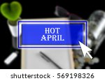 business background with blue... | Shutterstock . vector #569198326