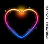 Rainbow Heart Border With...