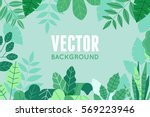 vector illustration in trendy... | Shutterstock .eps vector #569223946
