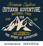 mountain explorer  national... | Shutterstock .eps vector #569235316