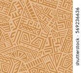 unique geometric vector... | Shutterstock .eps vector #569236636