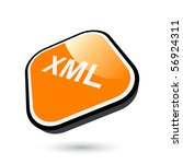 modern xml sign | Shutterstock .eps vector #56924311