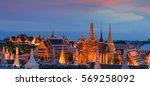 temple of the emerald buddha ...   Shutterstock . vector #569258092