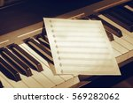 Music Notes On Piano Keys