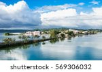 panoramic view at peten iitza...   Shutterstock . vector #569306032