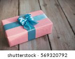 Handmade Pink Gift Box With...