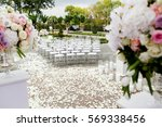 large bouquet of white and... | Shutterstock . vector #569338456