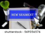 business background with blue... | Shutterstock . vector #569356576