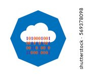 big data and cloud computing... | Shutterstock .eps vector #569378098