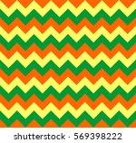 chevron pattern seamless vector ... | Shutterstock .eps vector #569398222