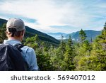 Hiker In The White Mountains...