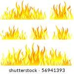 flame design | Shutterstock .eps vector #56941393