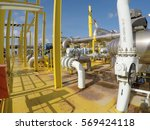 oil and gas industrires. view... | Shutterstock . vector #569424118