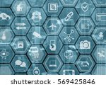internet of things iot generic... | Shutterstock . vector #569425846