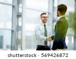 business deal | Shutterstock . vector #569426872