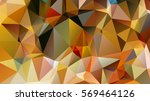 polygonal abstract background... | Shutterstock .eps vector #569464126