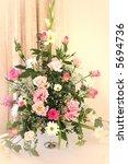 a beautiful bouquet of flowers   Shutterstock . vector #5694736