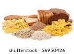 carbohydrate food isolated | Shutterstock . vector #56950426