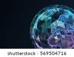 digital world. computer...   Shutterstock . vector #569504716