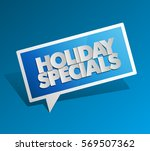 holiday specials sale square...