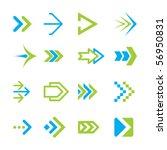 vector arrows | Shutterstock .eps vector #56950831
