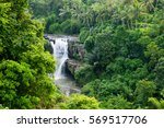 waterfall in the jungle | Shutterstock . vector #569517706